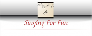 Singing for Fun Logo